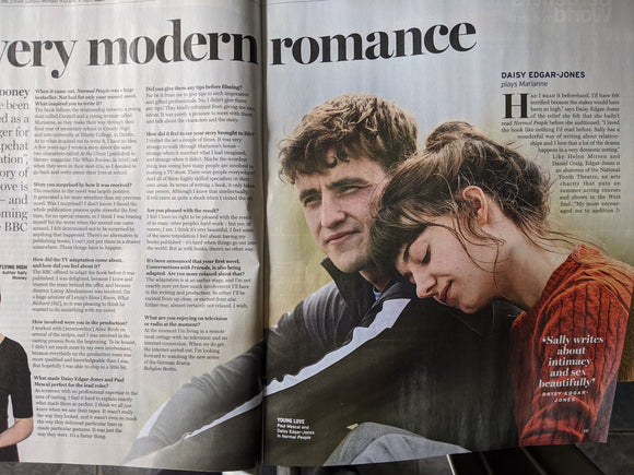 Radio Times Magazine 25 April 2020 DAISY EDGAR-JONES Normal People PAUL MESCAL