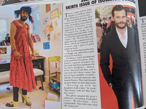 Hello! Magazine 25 May 2020: Jamie Dornan article