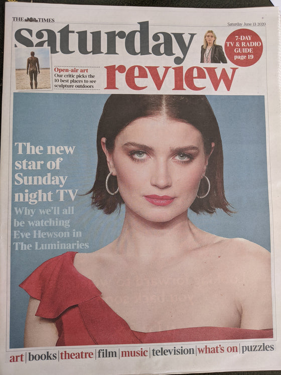 UK Times Review June 2020: EVE HEWSON interview BONO U2 Courtney Marie Andrews