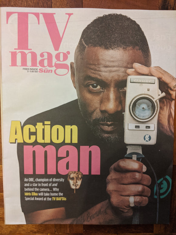 SUN TV Magazine 6/2020: IDRIS ELBA Emmett J Scanlan ROBERT SHEEHAN Mikey North