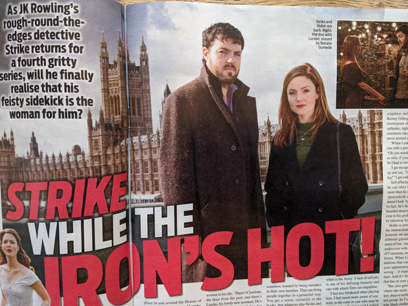 WEEKEND Magazine 08/2020: TOM BURKE Holliday Grainger CALLUM WOODHOUSE