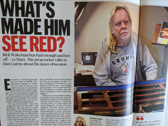 UK Culture Magazine August 2020: RICK WAKEMAN Yes EVE BEST Kenneth Branagh