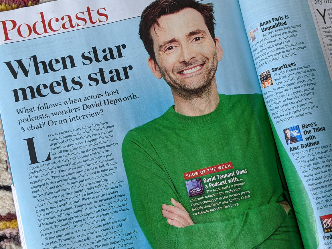 Radio Times Magazine 29 Aug 2020 David Tennant Maisie Williams Sian Clifford