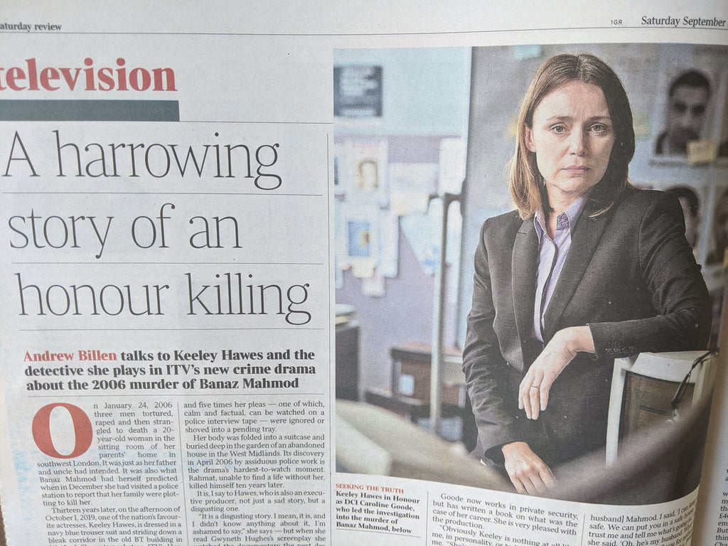 UK TIMES REVIEW Sept 2020: KEELEY HAWES Hilary Mantel JACQUELINE WILSON
