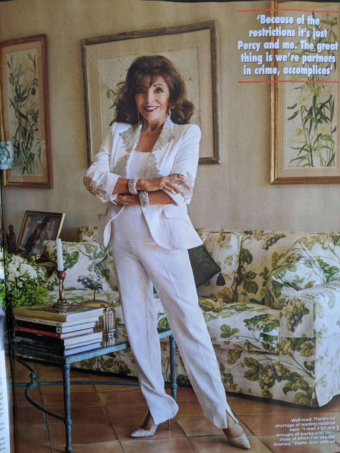 Hello Magazine Sept 2020: KATE MIDDLETON The Nolans JOAN COLLINS Robert Pattinson