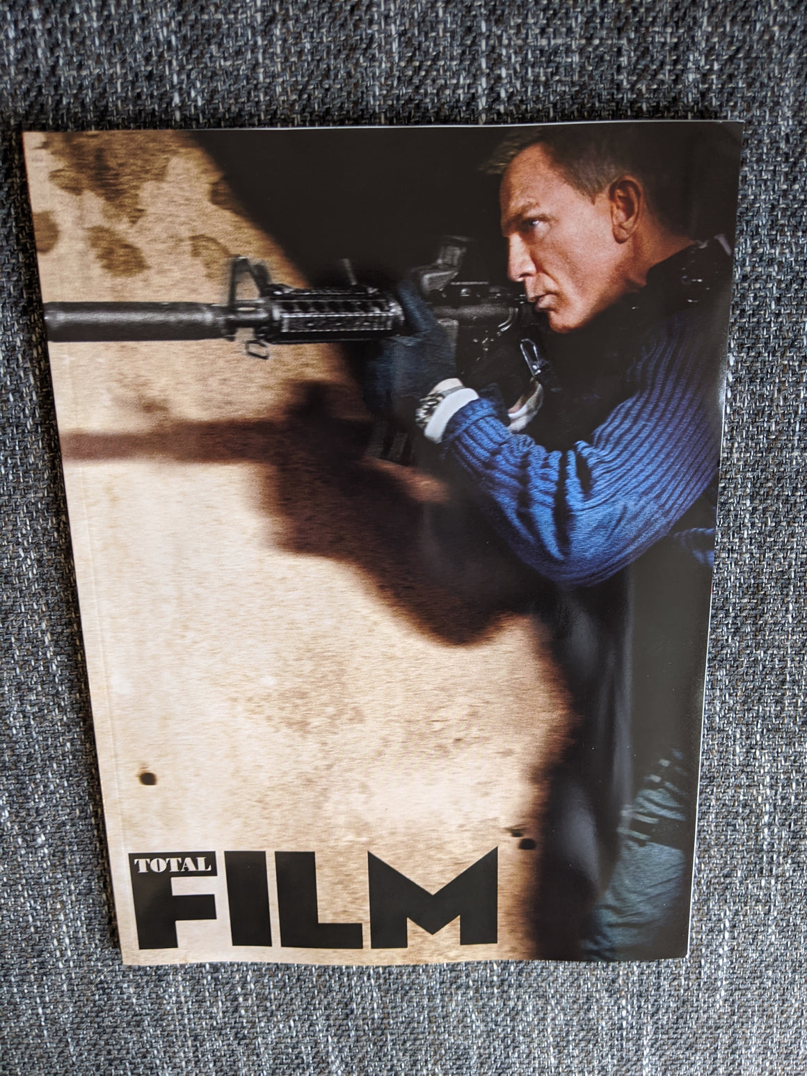 Total Film Magazine Nov 2020: JAMES BOND - NO TIME TO DIE - DANIEL CRAIG - RAMI MALEK