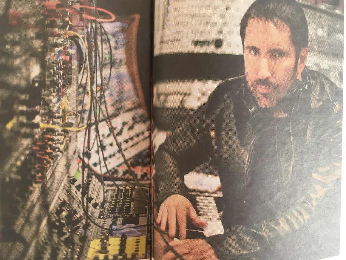 The Guardian G2 22nd December 2011 Trent Reznor Nine Inch Nail Interview