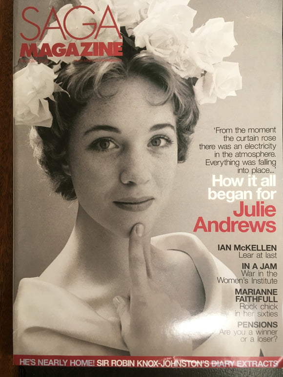 UK SAGA magazine - May 2007 - Julie Andrews cover