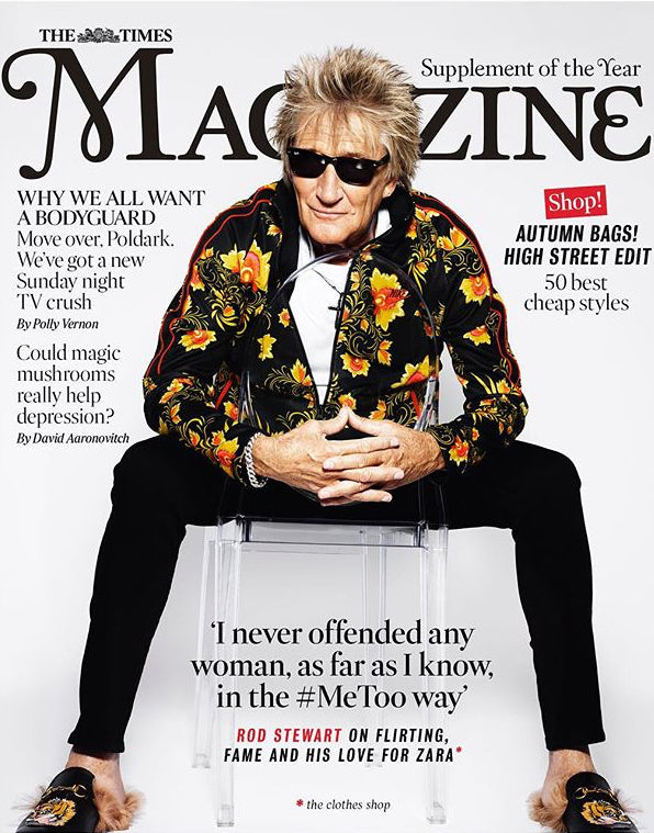 UK Times Magazine September 2018: ROD STEWART Cover Interview