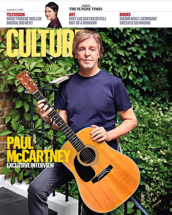 UK Culture Magazine September 2018: Sir Paul McCARTNEY Cover Interview