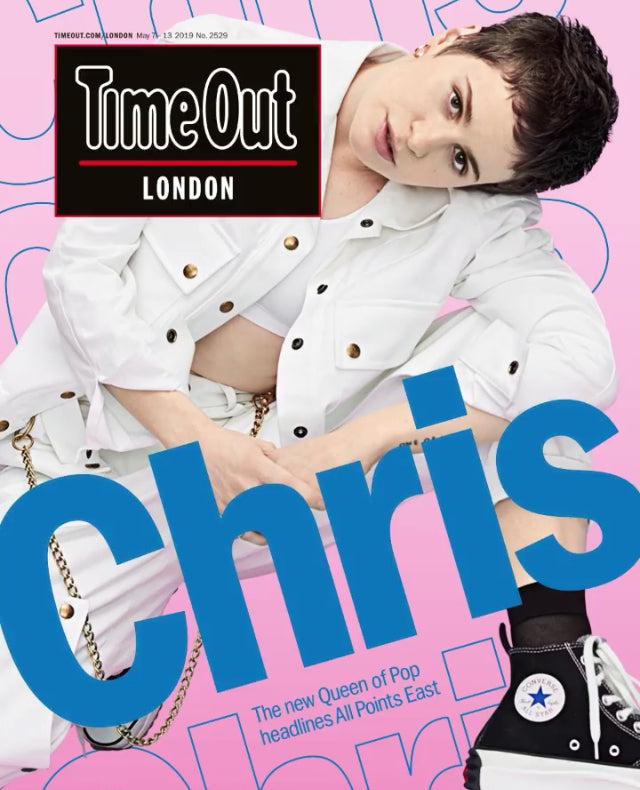 TIME OUT Magazine May 2019: CHRISTINE AND THE QUEENS (Héloïse Letissier) COVER