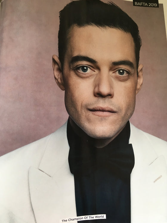 UK GQ Magazine June 2019 RAMI MALEK Richard Madden TARON EGERTON Luke Evans
