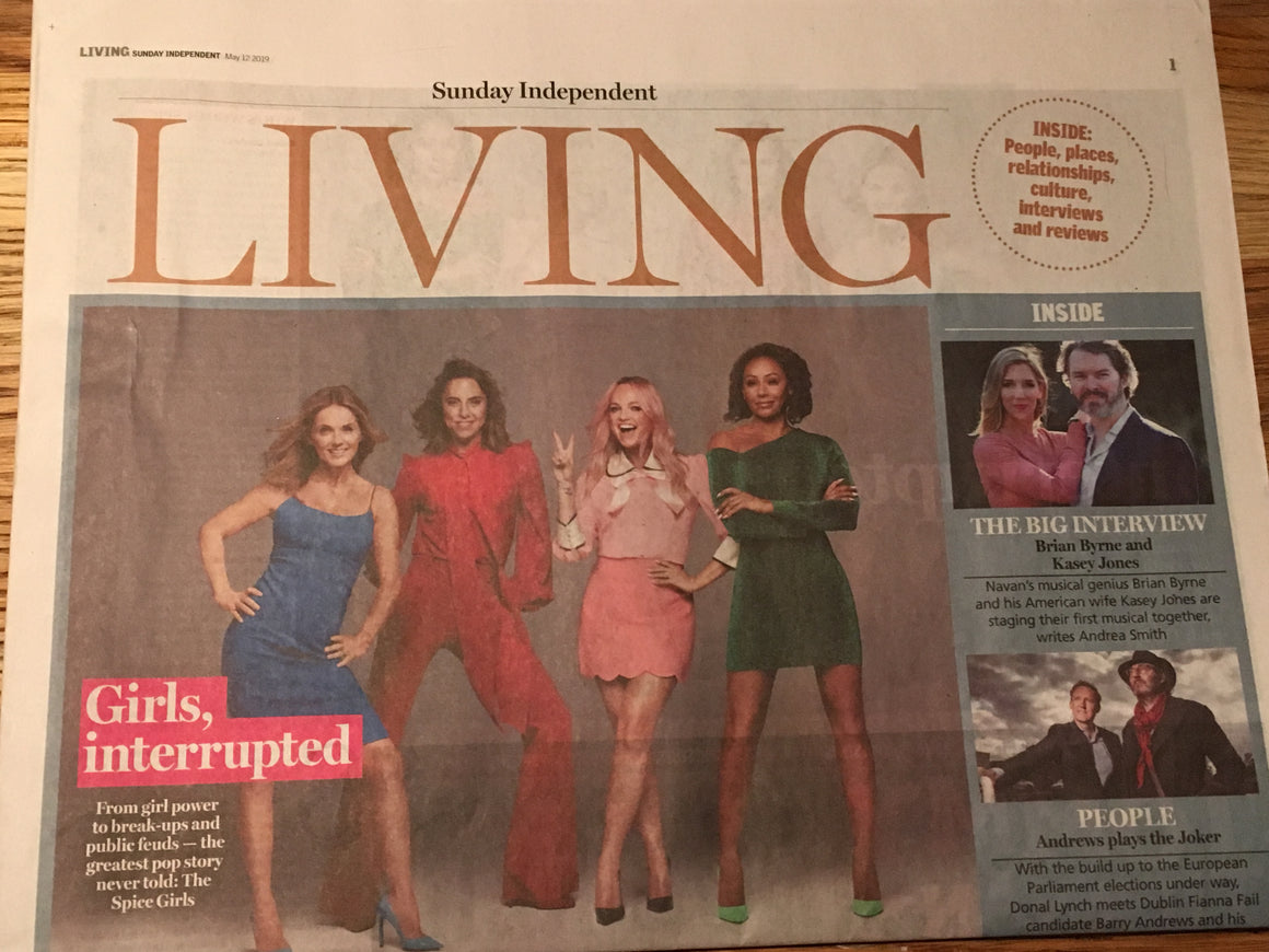 Sunday Independent Living May 12 2019: THE SPICE GIRLS COVER FEATURE