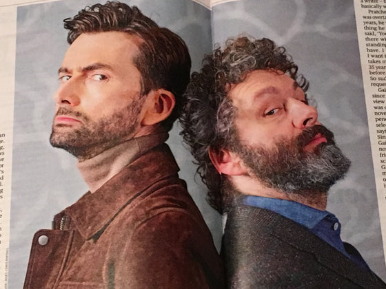 UK Culture Magazine May 2019: DAVID TENNANT & MICHAEL SHEEN FEATURE
