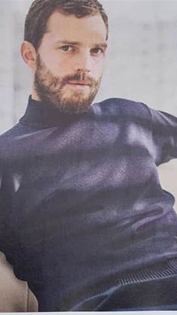 GQ British Magazine October 2018: JAMIE DORNAN