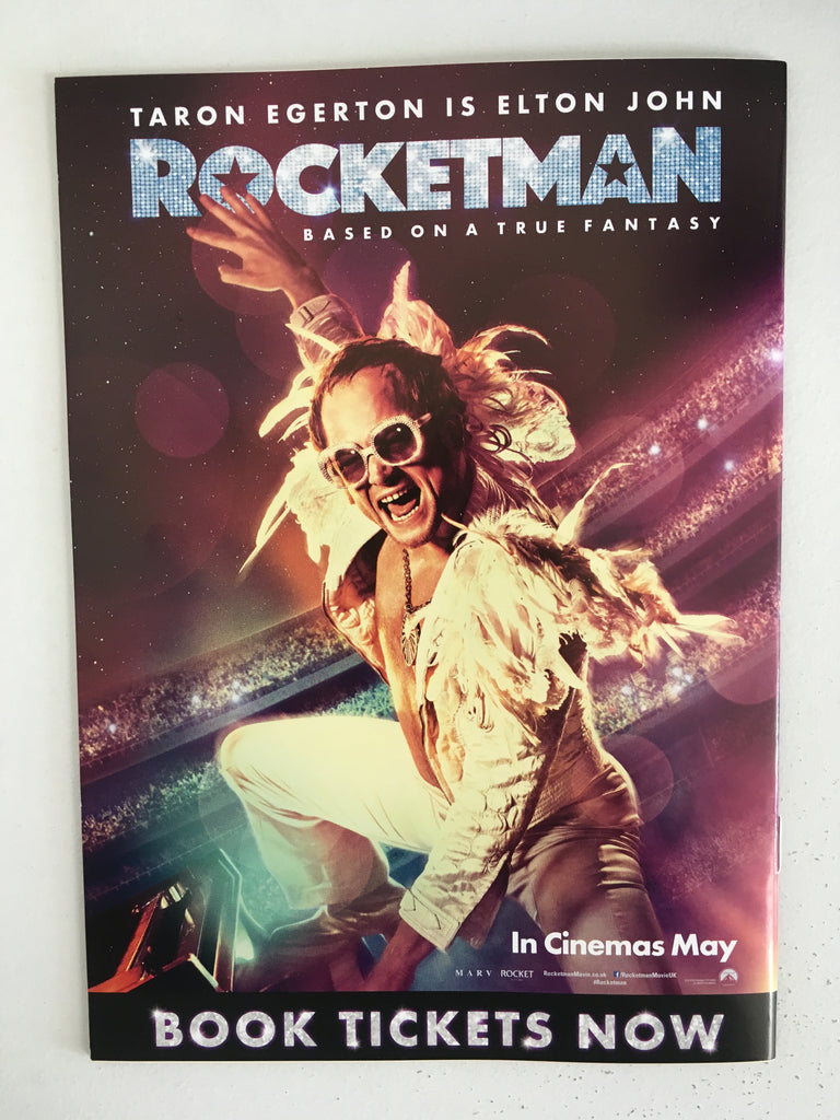 UK Odeon Magazine MAY 2019: ROCKETMAN/X-MEN Taron Egerton James McAvoy