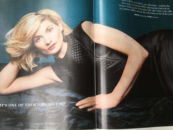 UK Times Magazine 8th September 2018: Jodie Whittaker The Doctor Who Cover Story