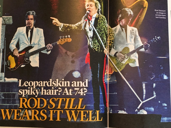 UK EVENT magazine May 2019: ELTON JOHN Keanu Reeves NICK LOWE Rod Stewart