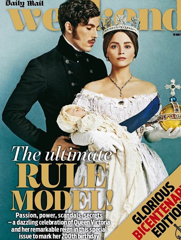 Weekend Magazine May 2019: QUEEN VICTORIA 200 Years Jenna Coleman Tom Hughes