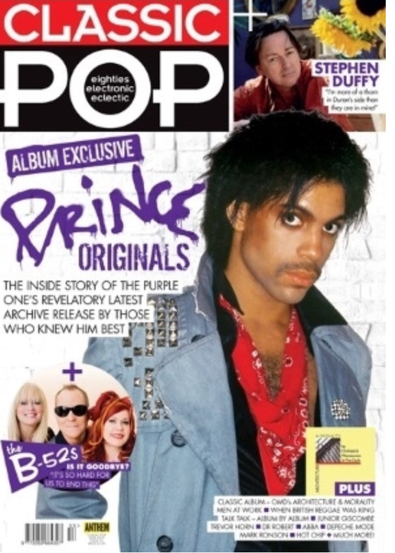 Classic Pop Magazine #53 (June 2019) PRINCE COVER AND ALBUM EXCLUSIVE