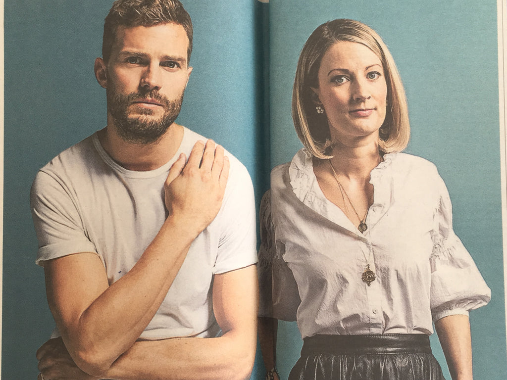 Times Weekend 25th May 2019: Jamie Dornan & Sister Jess Interview
