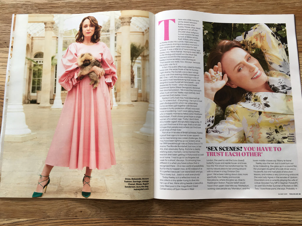 UK You Magazine May 2019 Keeley Hawes cover & interview