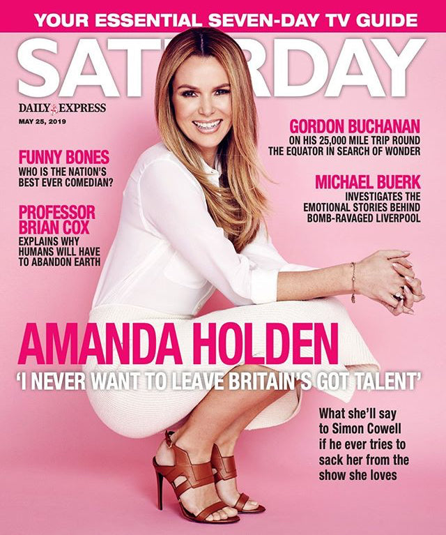 Saturday Magazine May 2019: AMANDA HOLDEN Michael Ball GABY ROSLIN