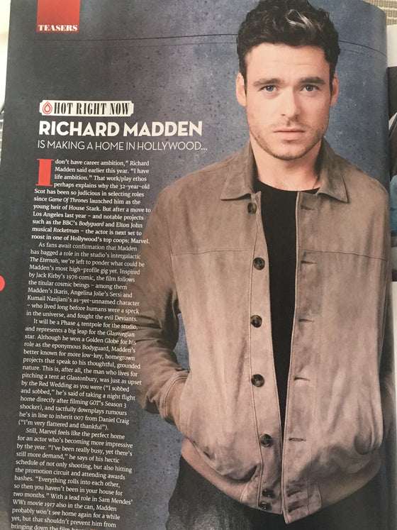 Total Film Magazine June 2019: Richard Madden Matt Smith Andrew Scott