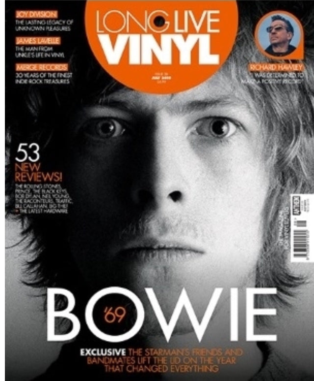 Long Live Vinyl #28 (July 2019) David Bowie '69 Exclusive