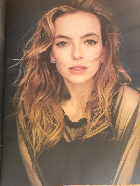 OBSERVER magazine 2nd June 2019 Jodie Comer cover (Killing Eve) and interview