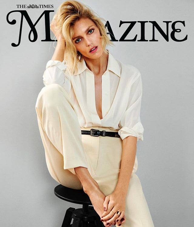TIMES magazine 8th June 2019 Anja Rubik cover and interview - Sir Elton John