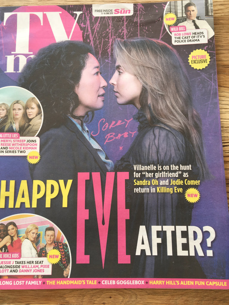 TV magazine 8 June 2019 Jodie Comer & Sandra Oh (Killing Eve) cover + interview