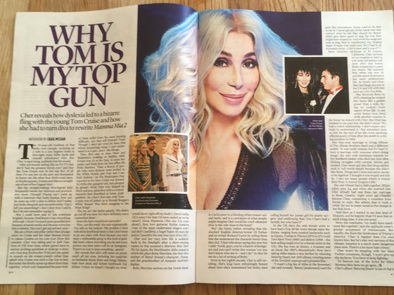 UK EVENT Magazine September 2018: CHER Exclusive Interview
