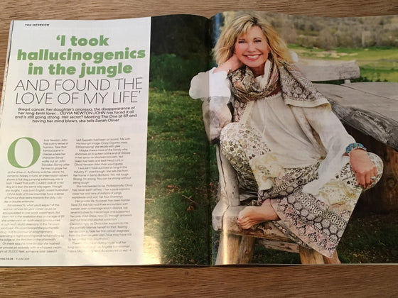 YOU magazine 9th June 2019 Olivia Newton John interview