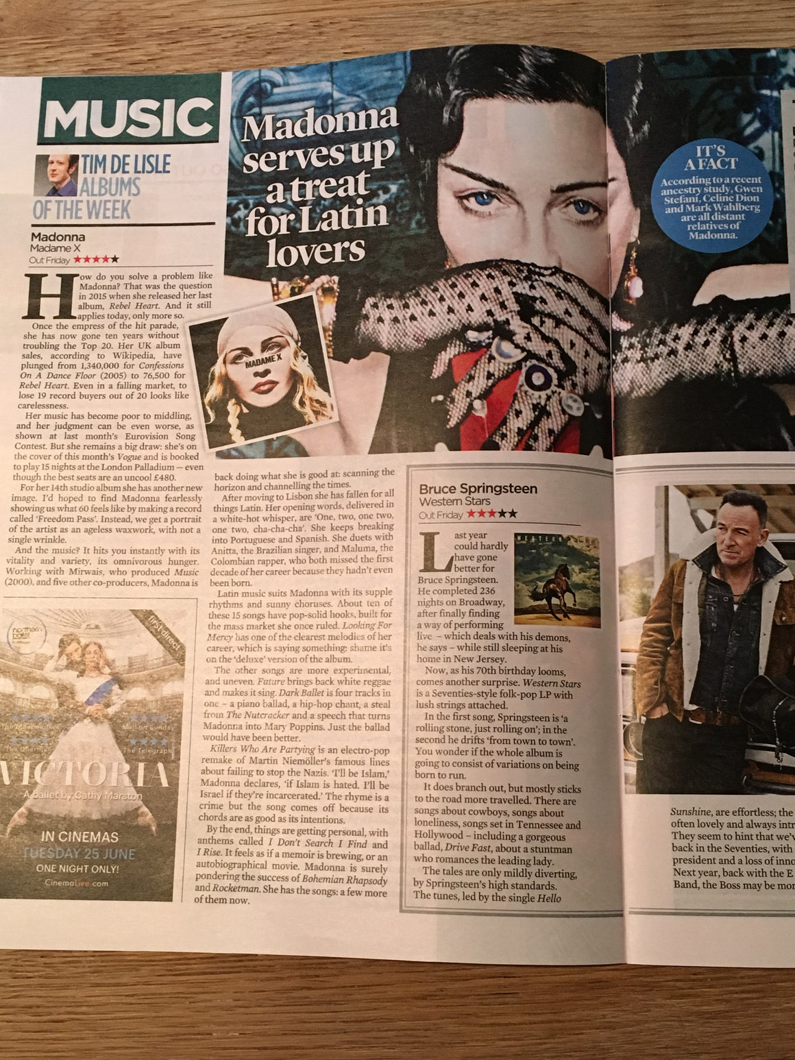 UK Event Magazine 9th June 2019: Madonna - The Madame X Album Review