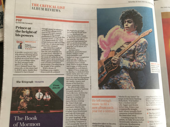 TELEGRAPH REVIEW June 2019: The Lion King Mavis Staples John Betjeman Prince