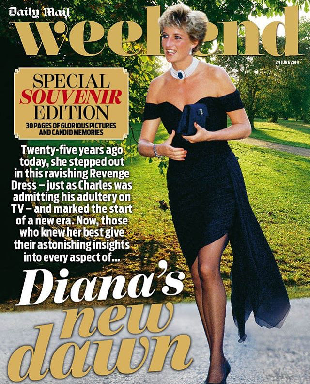 Weekend Magazine 29 June 2019: Princess Diana Special Souvenir Edition