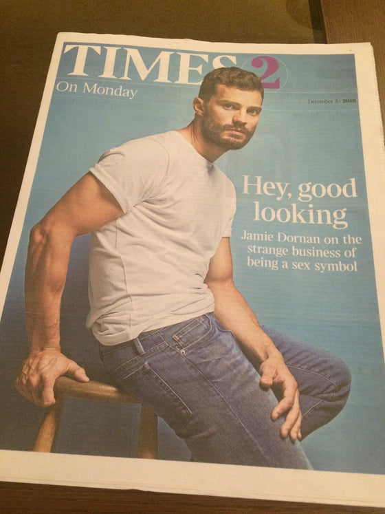 UK Times 2 Supplement December 2018: JAMIE DORNAN COVER STORY