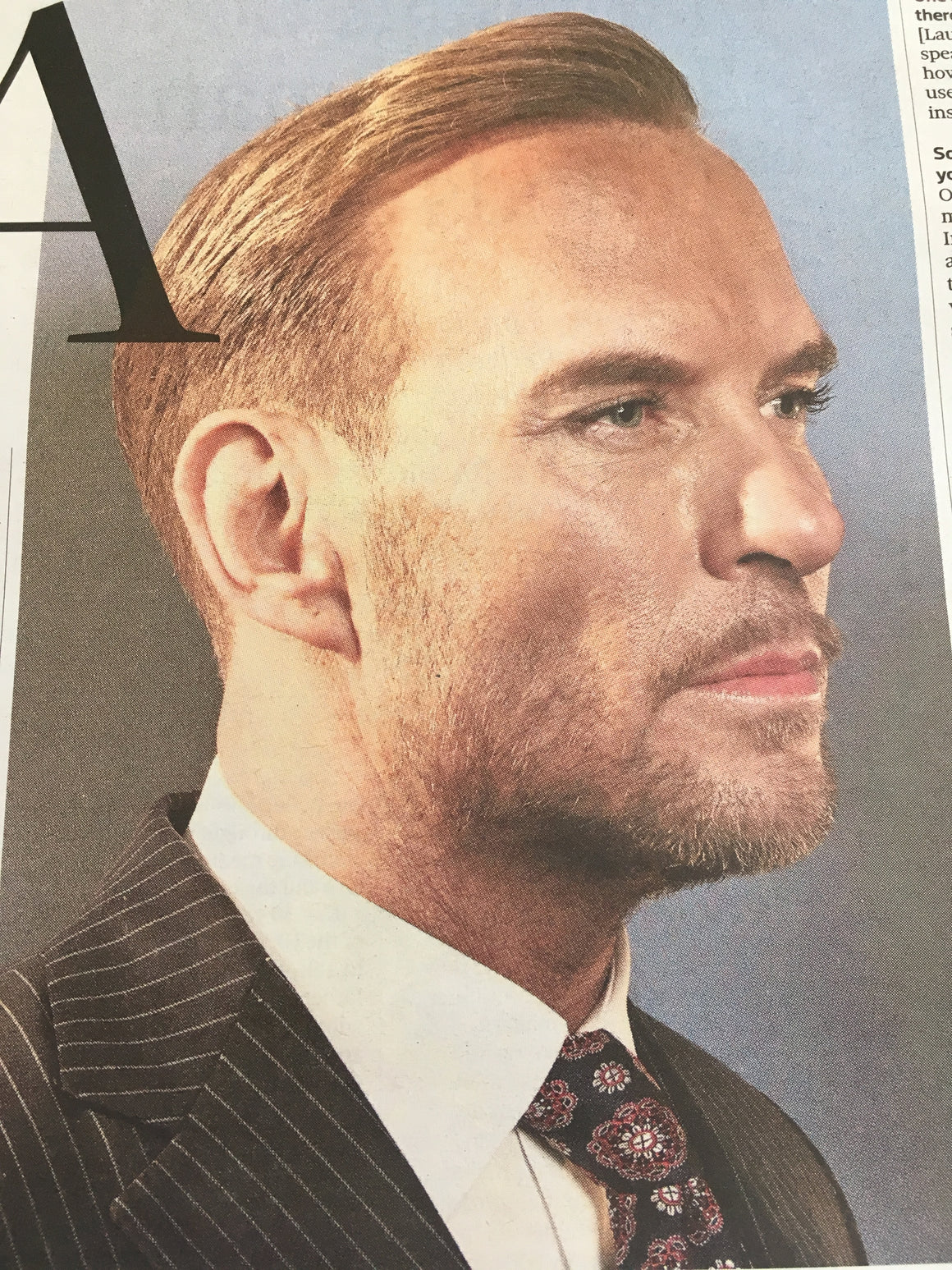 UK Observer Review 30th June 2019: Matt Goss (Bros) David Lynch Andrew Scott