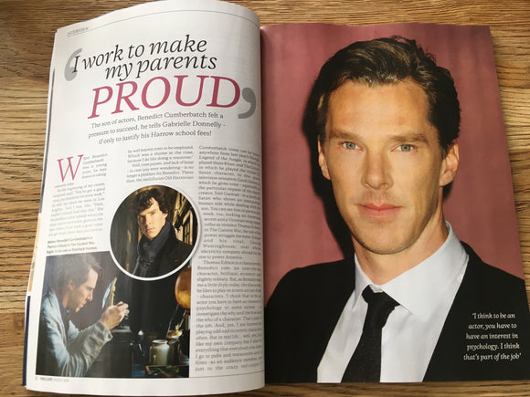 UK THE LADY MAGAZINE 19 JULY 2019: BENEDICT CUMBERBATCH EXCLUSIVE INTERVIEW