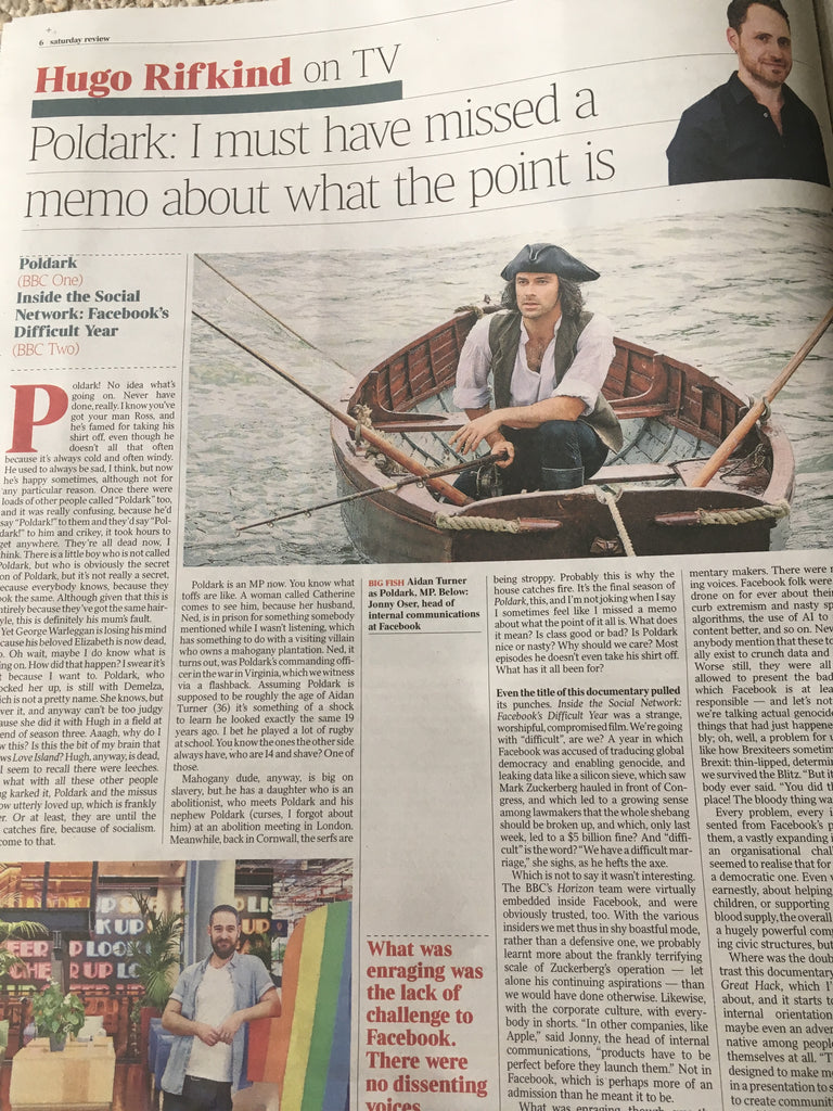 UK TIMES REVIEW 20 July 2019: ELTON JOHN and TIM RICE Paul McCartney AIDAN TURNER
