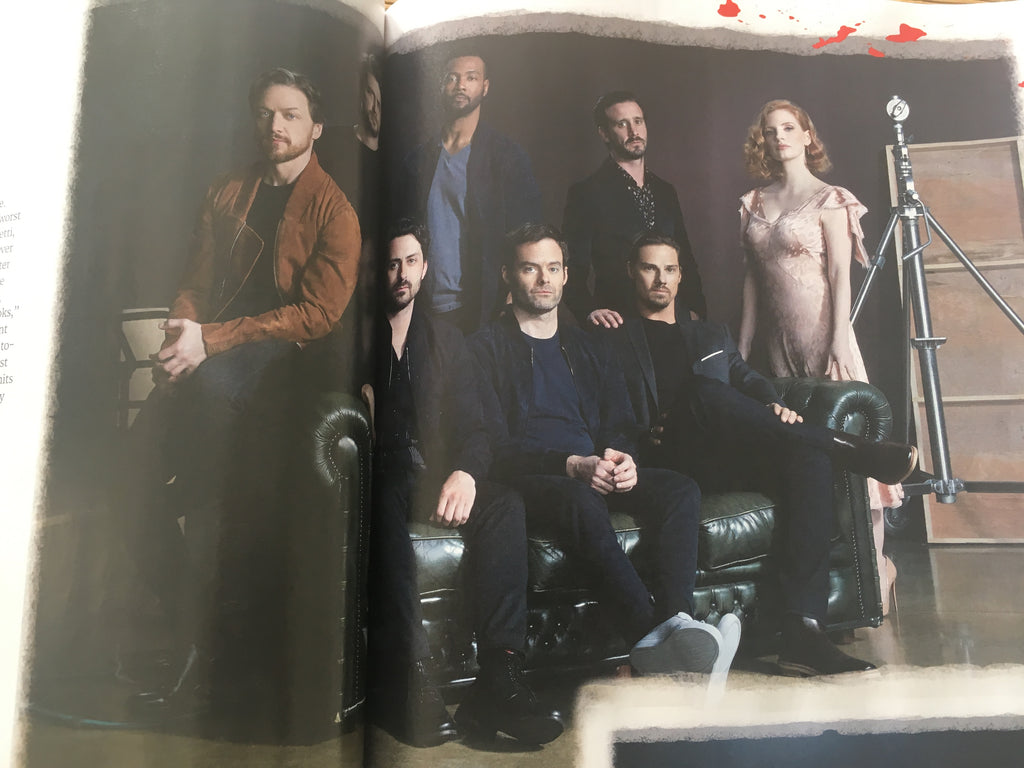 UK Total Film August 2019: James McAvoy The IT Movie Chapter Two Subscribers Edition