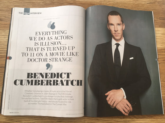 The Total Film Interview with Benedict Cumberbatch (2019 Edition)