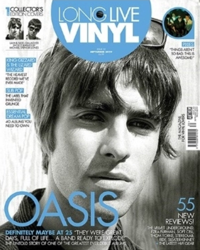 Long Live Vinyl Magazine #30: September 2019 - Oasis (Liam Gallagher Cover)