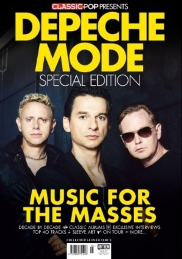 CLASSIC POP PRESENTS magazine Aug 2019 - DEPECHE MODE SPECIAL EDITION Cover #2