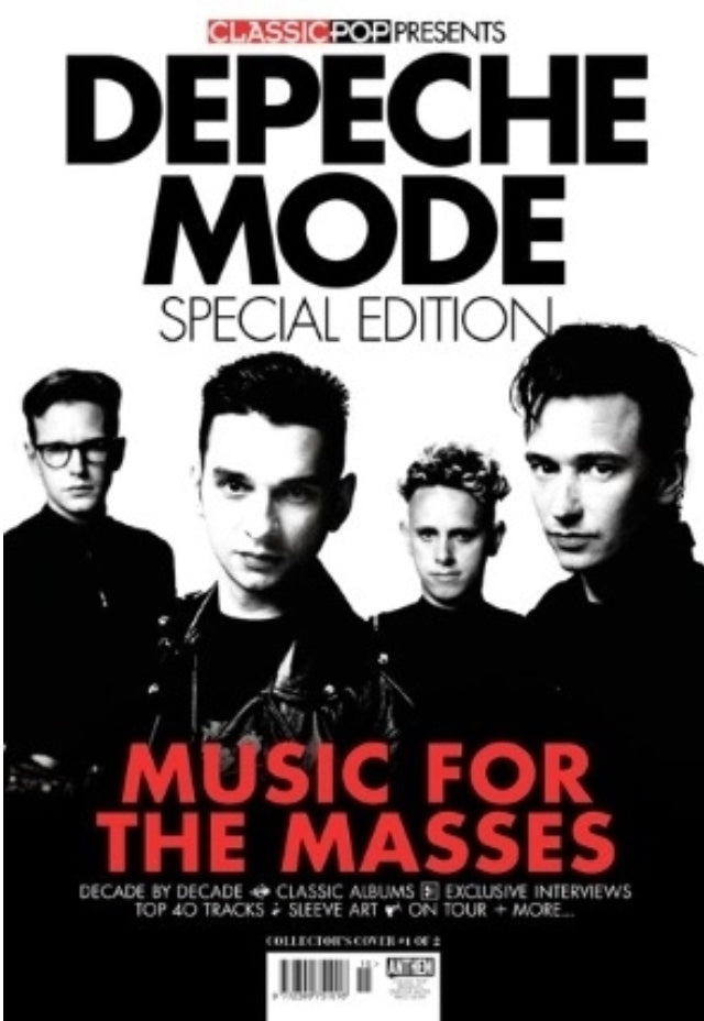 CLASSIC POP PRESENTS magazine Aug 2019 - DEPECHE MODE SPECIAL EDITION Cover #1