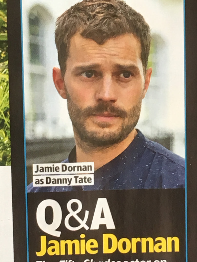 UK TV & Satellite Magazine October 2018: Jamie Dornan Peter Dinklage My Dinner with Herve