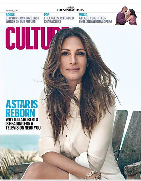 UK CULTURE Magazine October 2018: JULIA ROBERTS The Eagles JOE WALSH Don Henley