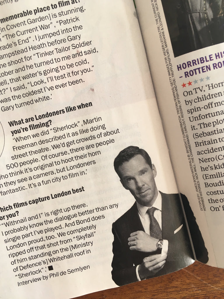 TIME OUT LONDON Magazine July 2019: BENEDICT CUMBERBATCH Nile Rodgers