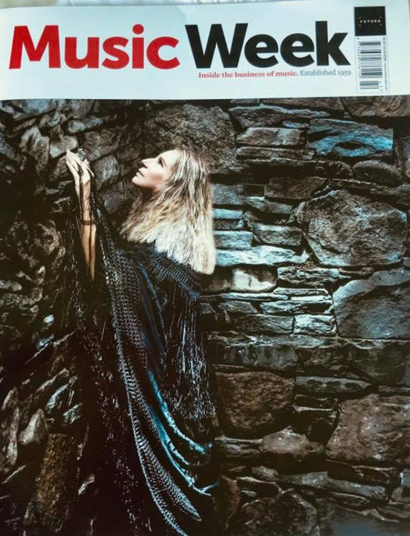 UK MUSIC WEEK Magazine October 2018: BARBRA STREISAND COVER STORY